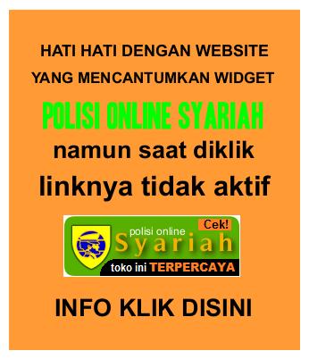CIRI CIRI WEB/BLOG PENIPUAN