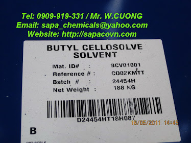 BCS - Malaysia / butyl cellosolve