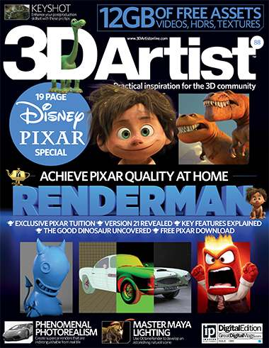 3D Artist Magazine Issue 88 2015