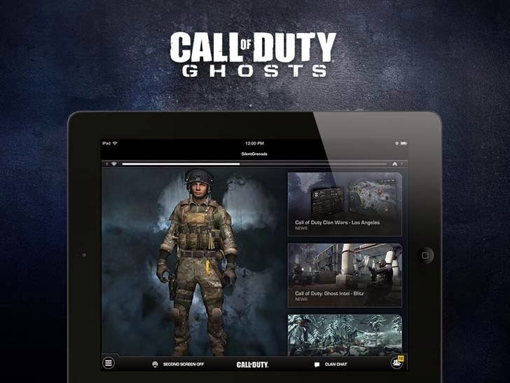 Call Of Duty Ghosts App iTunes App By Activision Publishing, Inc - FreeApps.ws