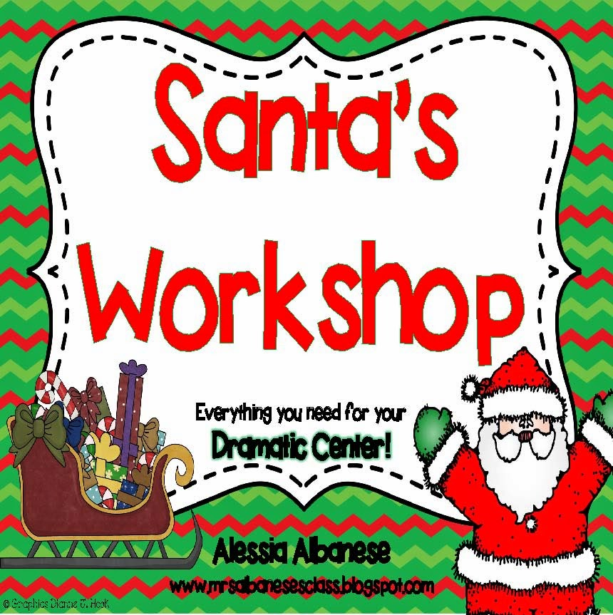 Mrs. Albanese's Kindergarten Class: Santa's Workshop at our ...