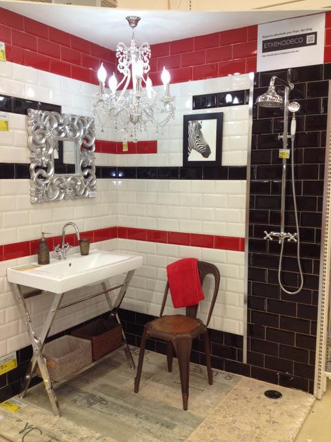 Un ba o de etxekodeco para leroy merlin etxekodeco - Leroy merlin azulejos cocina ...