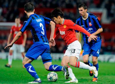 Manchester United 2 - 0 Otelul Galati (3)