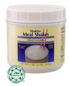 Meal Shakes Shaklee yang sedap