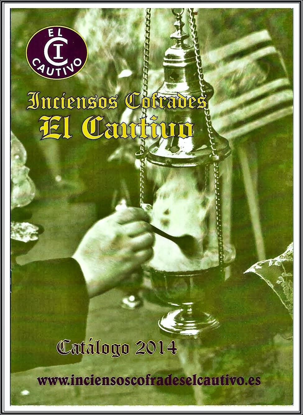 Catalogo de Inciensos Cofrades El Cautivo de 2014. CARMONA (Sevilla).