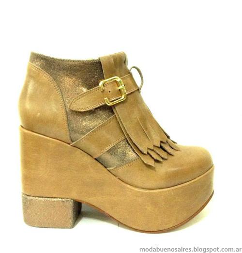 Moda zapatos y botas otoño invierno 2014 RH+.