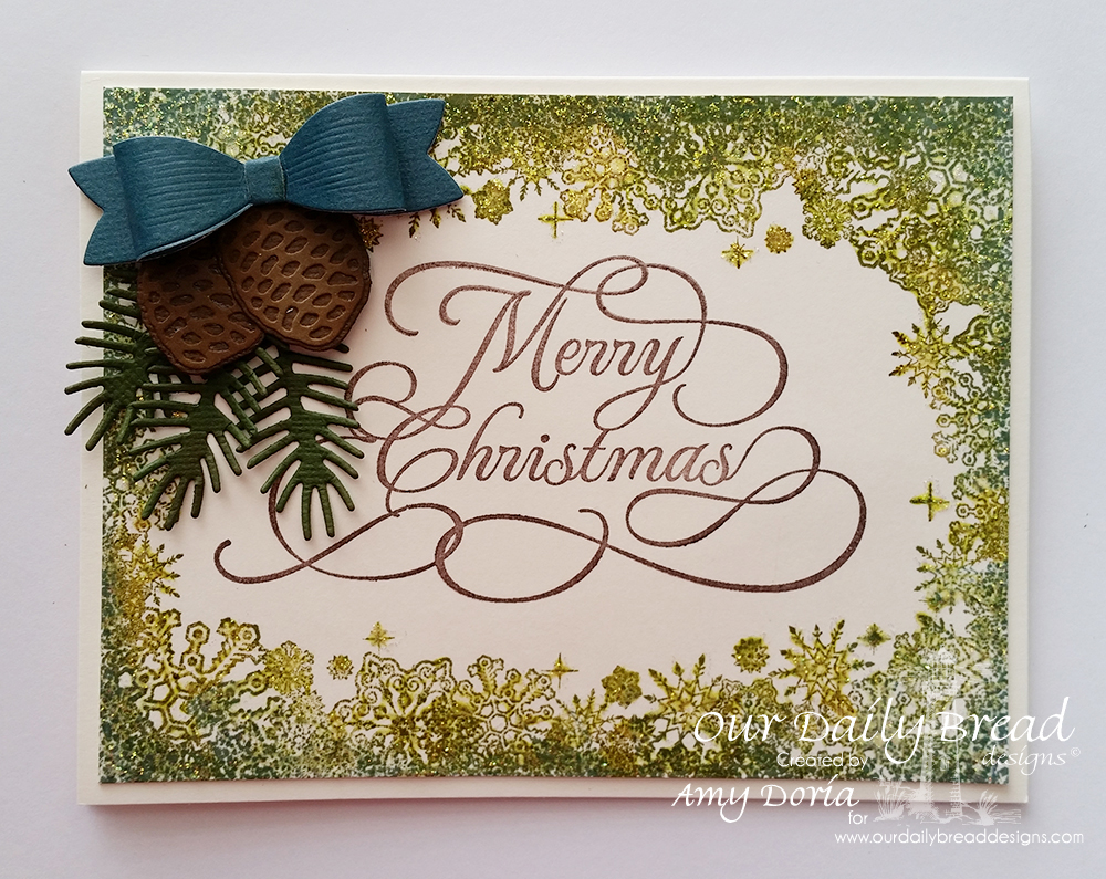 Amarilys\'s Scrappy Corner: monday...snowflake Christmas cards
