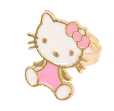 Aksesoris: Cincin Hello Kitty Pink (AHG-374)