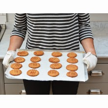 World's easiest peanut butter cookies?