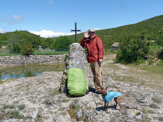 レ・ラヴァニュ Les Lavagnes サン・ギエムの道 Chemin de Saint-Guilhem 十字架 croix