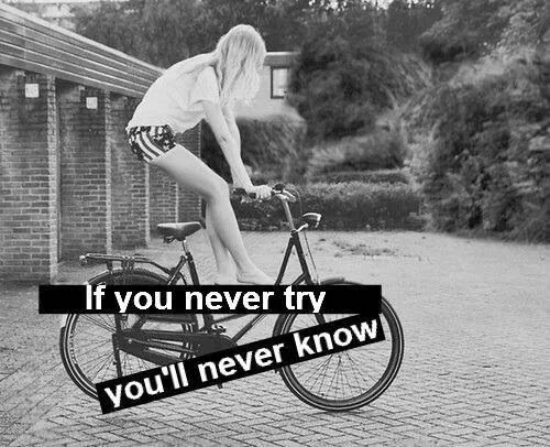 ...Just bike...