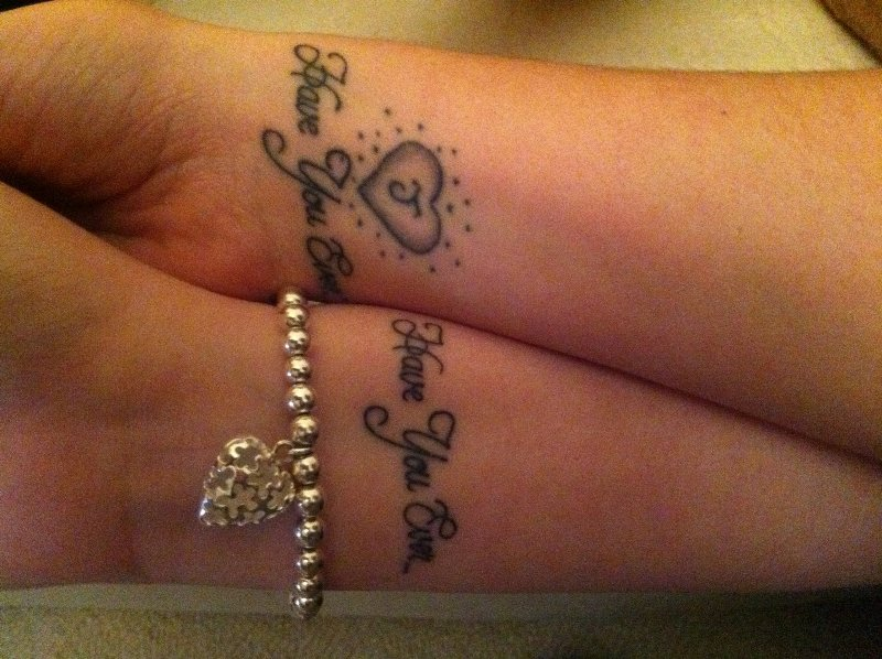 All fun 143 tattoos for couples in love