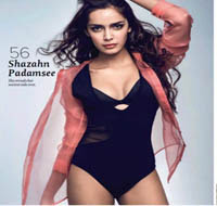 Shazahn Padamsee Latest Hot Bikini Pics From Maxim