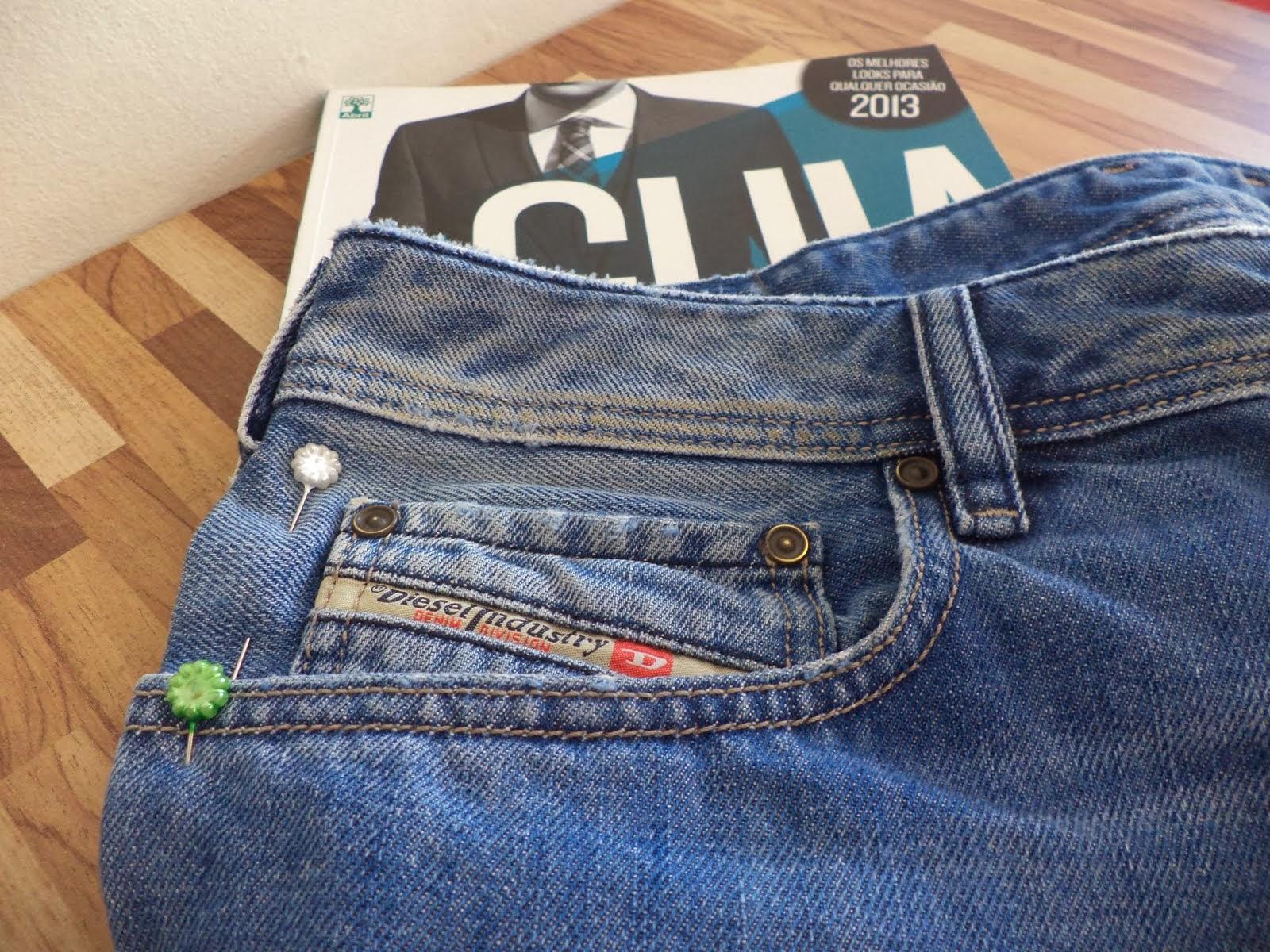 Ajustar calça jeans