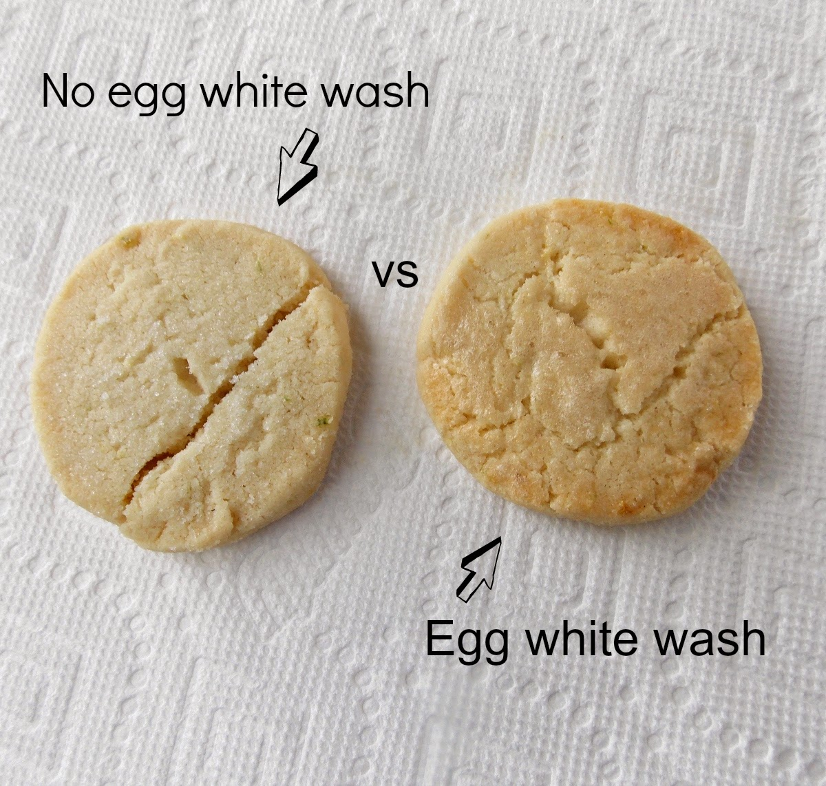 Cookie egg wash recipe