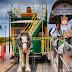 Trem Unik Menggunakan Tenaga Kuda Di Australia