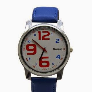 (96% Off) Reebok Unisex Wrist Watch Blue & Red Rs.129 - Shopclues