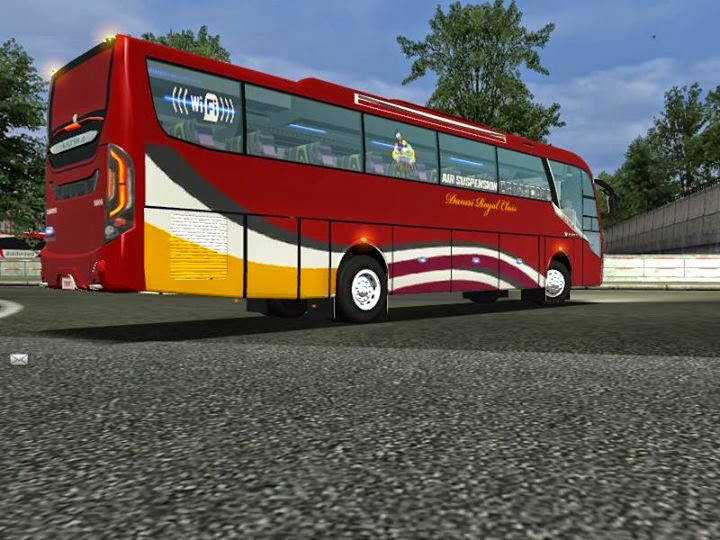Download Mod Bus Trisakti Ultima For UKTS | IFAN BLOG
