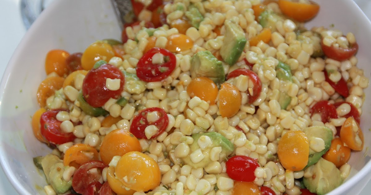 EVERYDAY SISTERS: Heirloom Tomato, Corn and Avocado Salad with Lime ...