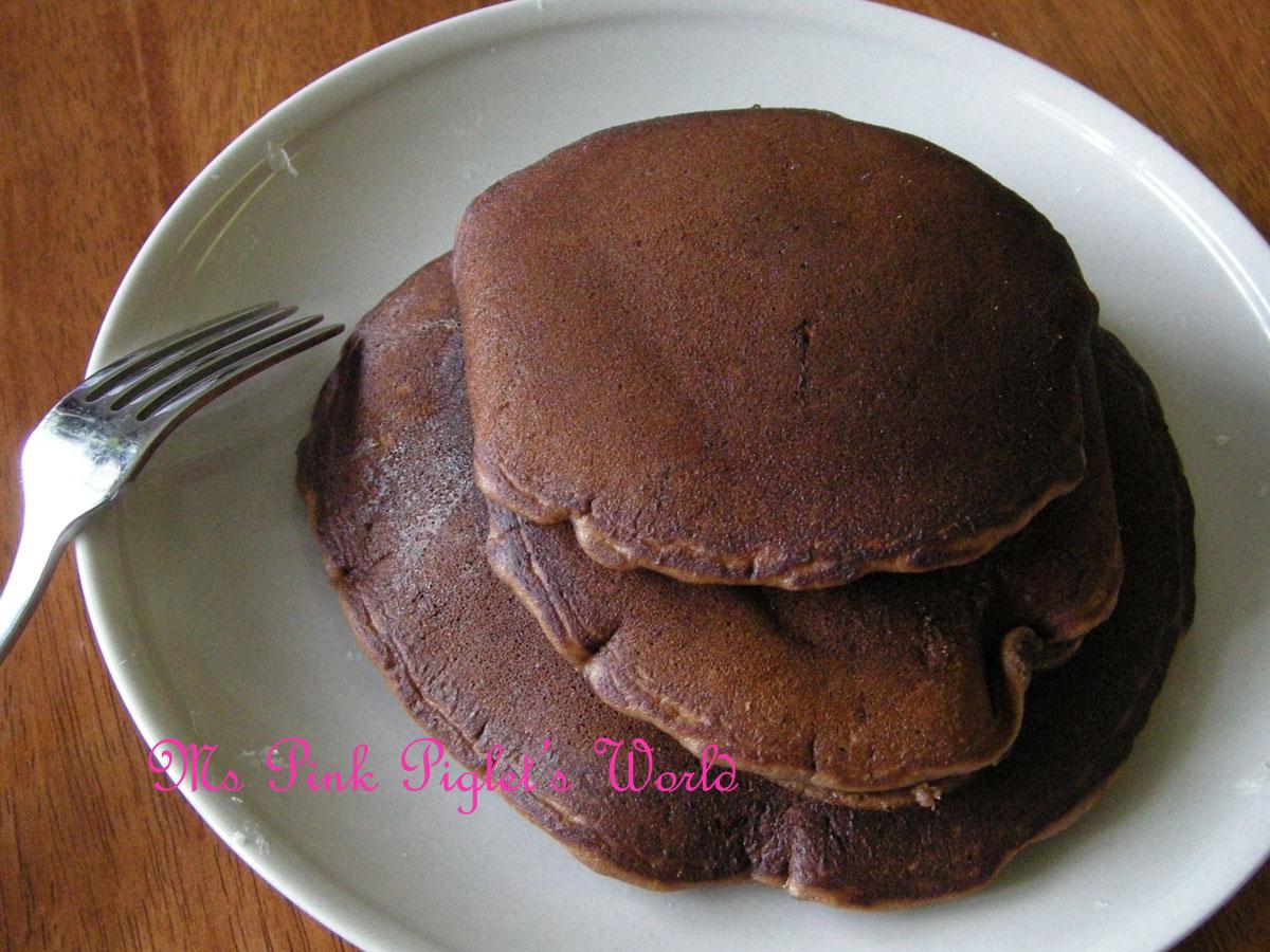Nutella Pancakes Recipe — Dishmaps