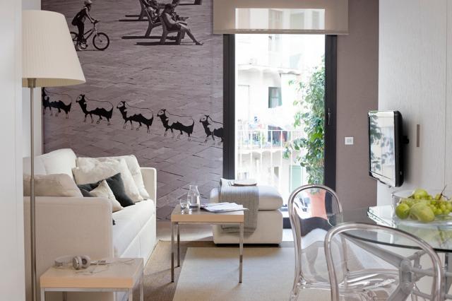 Apartamento de estilo nordico en barcelona nordic for Muebles nordicos barcelona