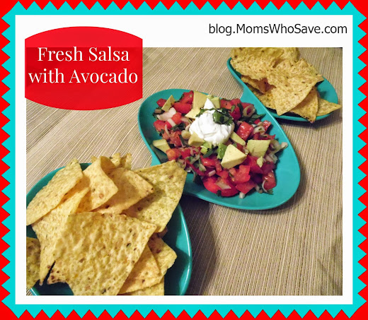 Fresh Salsa With Avocado Recipe