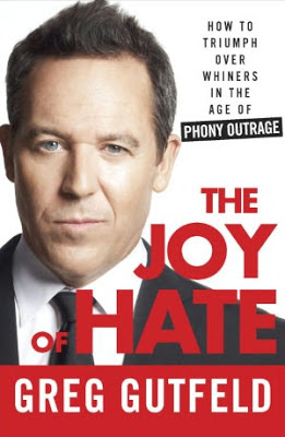 The Joy of Hate by Greg Gutfeld - book cover