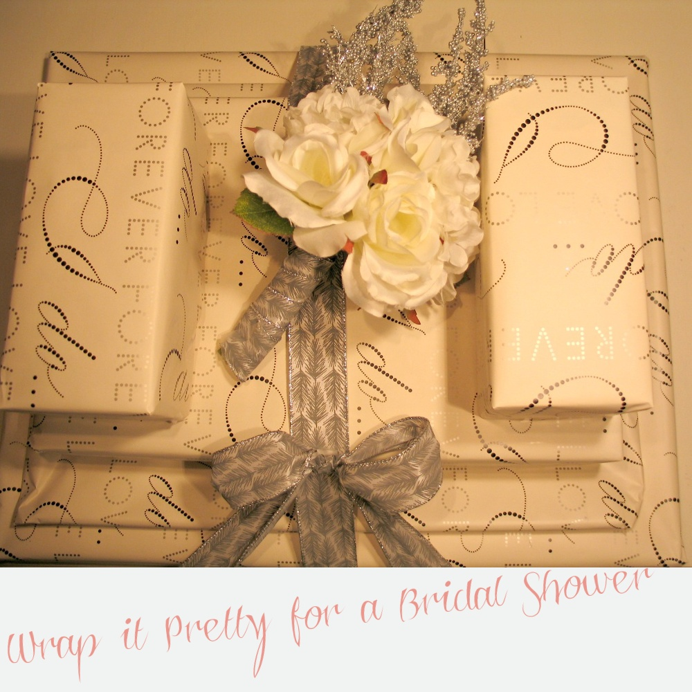 bridal shower gift wrapping idea