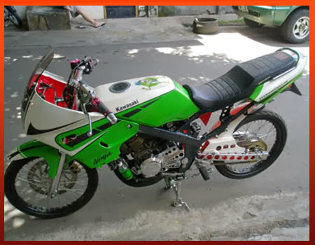 Dengan mengusung brand Carrera motor Ninja 150 R satu ini sangat  title=