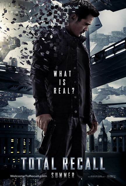 Total Recall 2012 Movie Colin Farrell Poster
