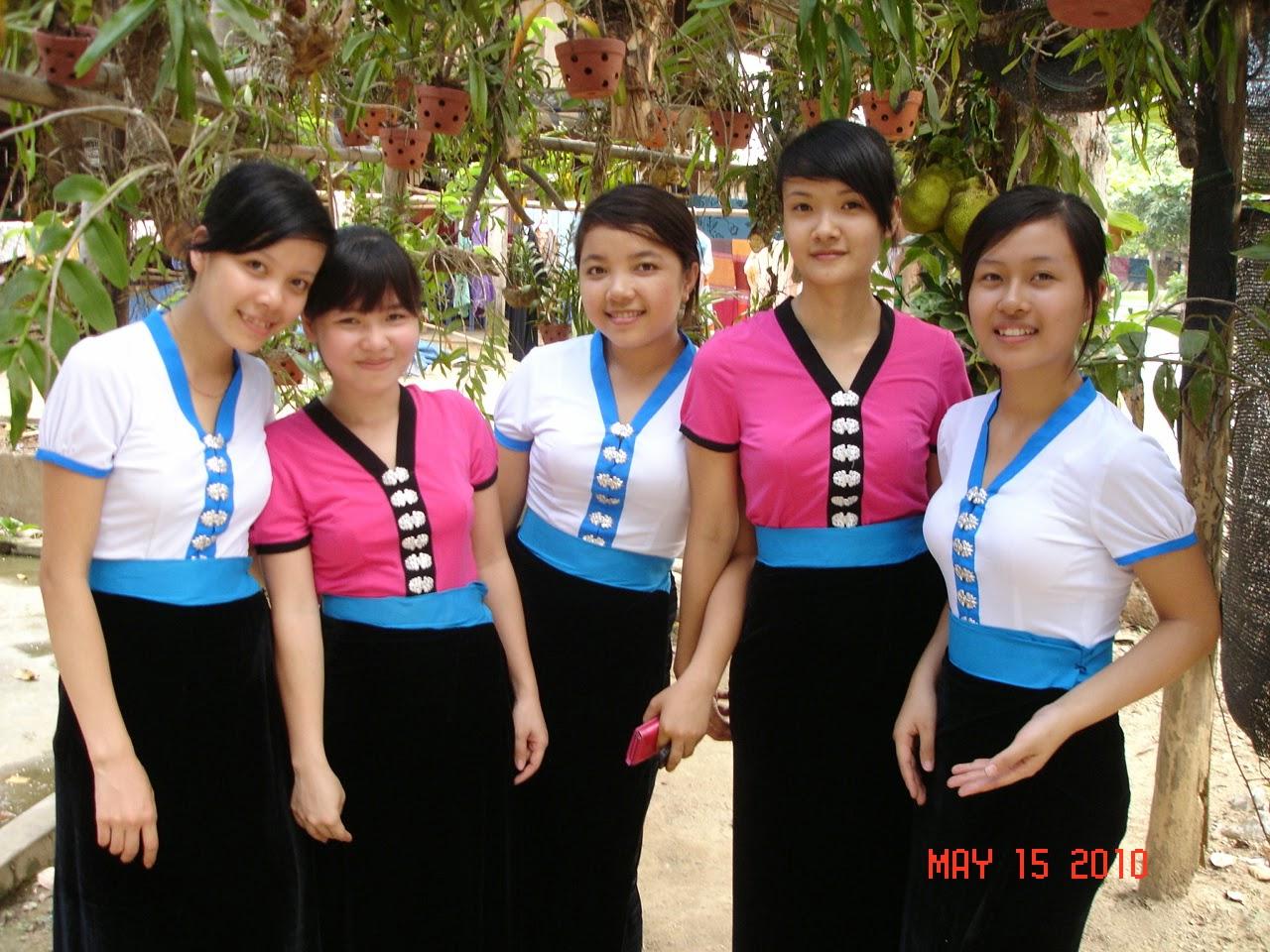 A peaceful  valley Mai Chau of Hoa Binh province in Vietnam