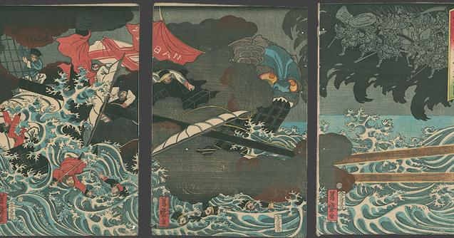 La expansi n mongola y sus intentos por entrar en jap n - Equilibrio en japones ...