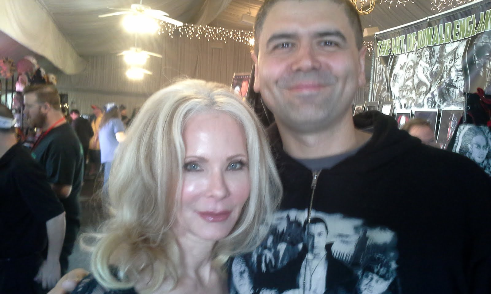 Me with Melanie Kinnaman