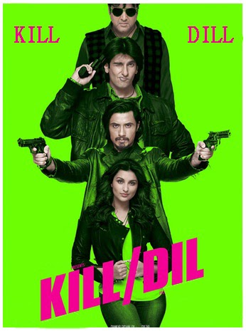 kill dil, movie, hd, motion, poster