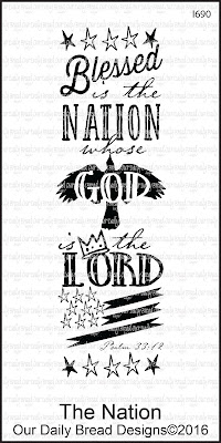 Our Daily Bread Designs Stamp: The Nation
