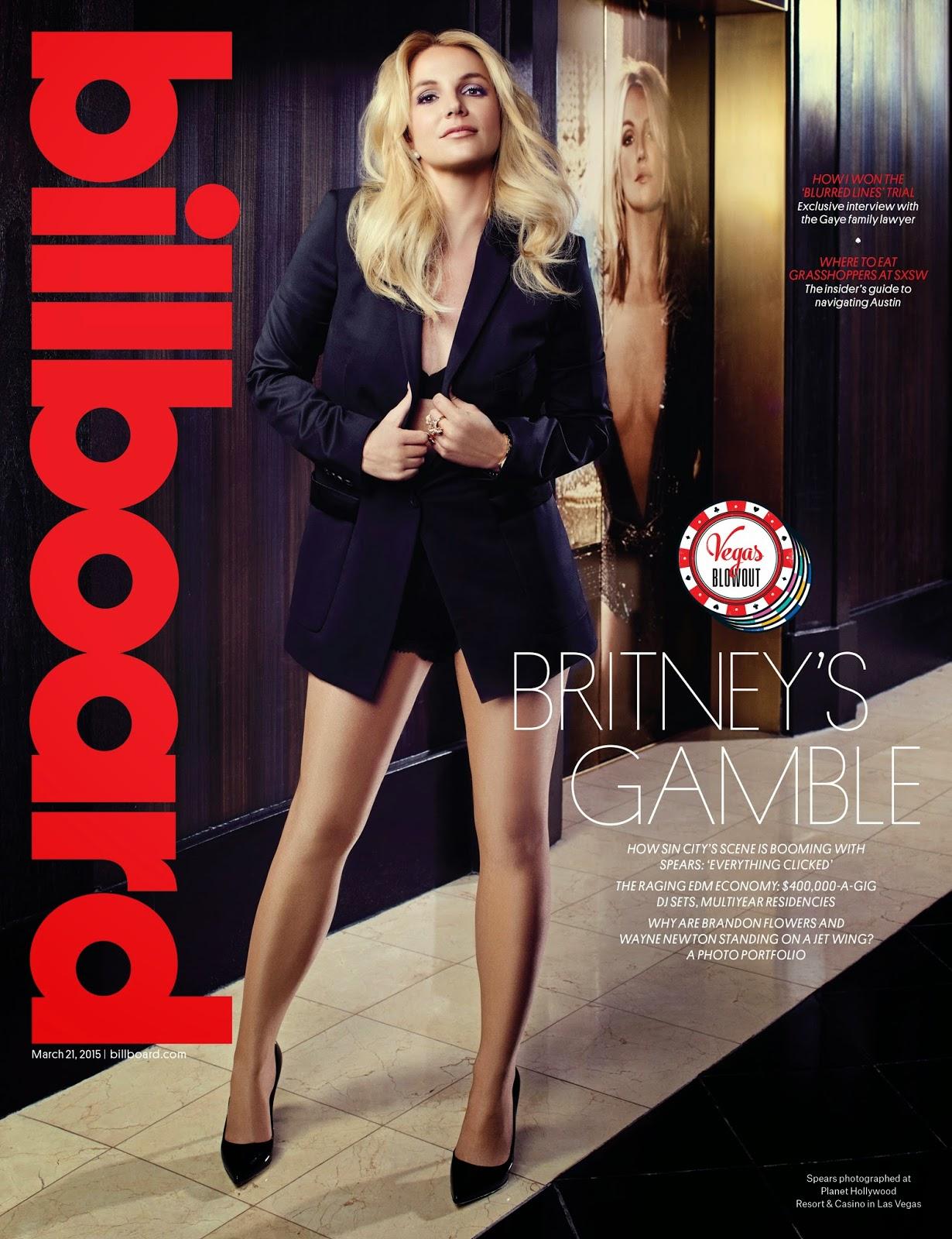 Singer, Dancer, Actress @ Britney Spears - Billboard Magazine March 2015