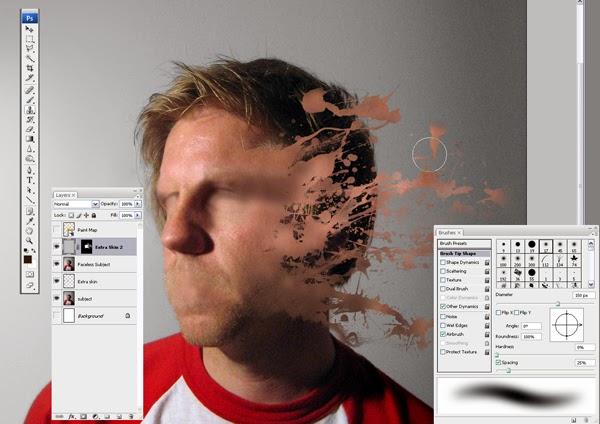 Как сделать фон размазанным фотошоп