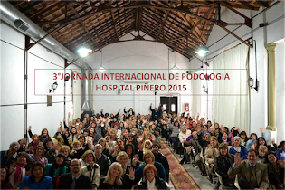 3°JORNADA INTERNACIONAL DE PODOLOGIA DEL HOSPITAL PIÑERO