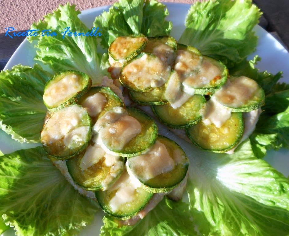 petto di tacchino in crosta di zucchine e parmigiano