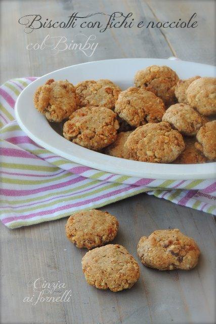 biscotti light con fichi e nocciole col bimby