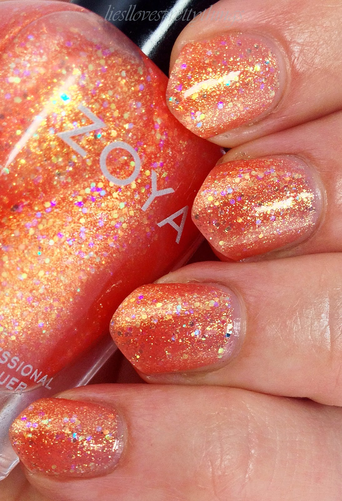 Zoya Jesy Swatch and review