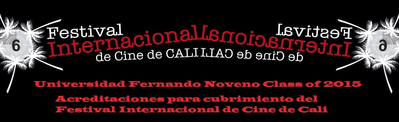 Acreditaciones para cubrimiento del Festival Internacional de Cine de Cali