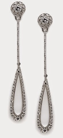 1.43ct Diamond Teardrop earrings