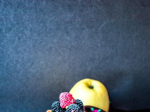 Яблочные панкейки