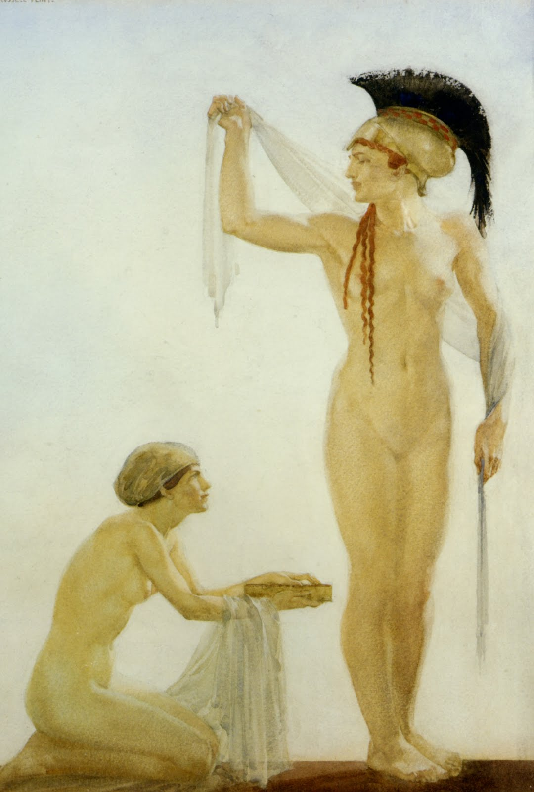 sir william russell flint pallas athene