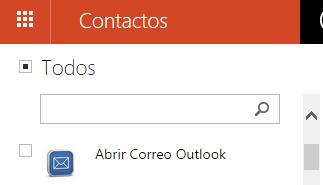 Cambiar el orden en que aparecen tus contactos en Outlook