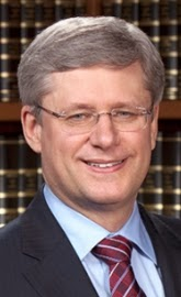 The Right Honourable Stephen Joseph Harper, Prime Minister.
