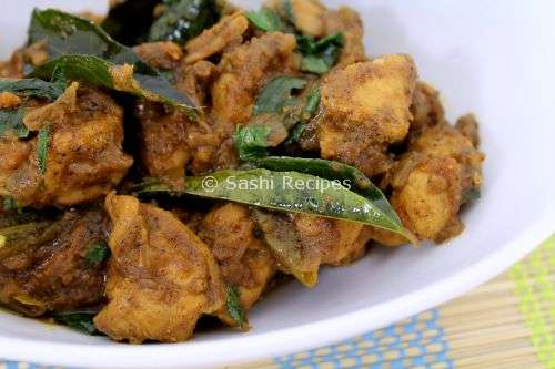 Karaikudi Pepper Chicken Fry