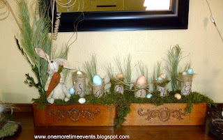 One More Eggs-tra Spring Arrangement at One More Time Events.com