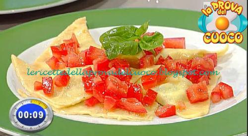Ravioli di magro con concassè di pomodoro ricetta Bertol da Prova del Cuoco